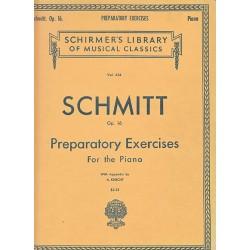 Schirmer's Schmitt Op16 Preparatory Exercises