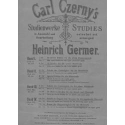 Carl Czerny's Studies Heinrich Germer
