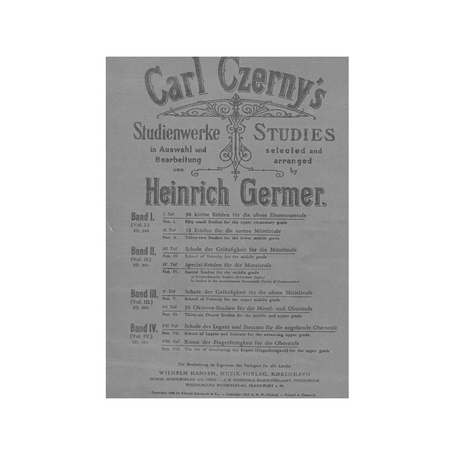 Czerny Germer Vol 1 Pdf