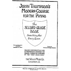 John Thompson's Modern Course For The Piano Second Grade Book