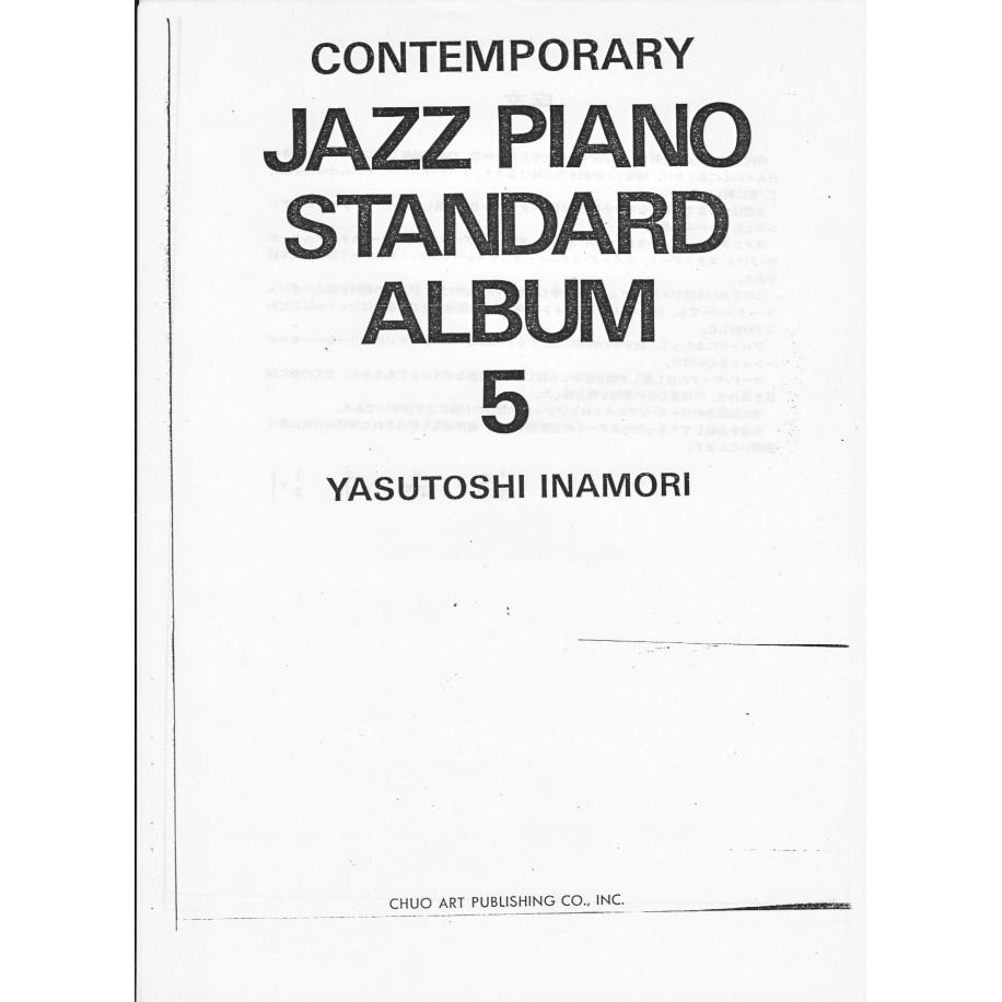 Contemporary Jazz Piano Standard Album 5 Yasutoshi Inamori