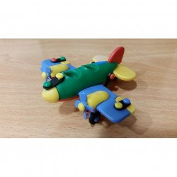 Mobilcraft Dual Propeller Airplane