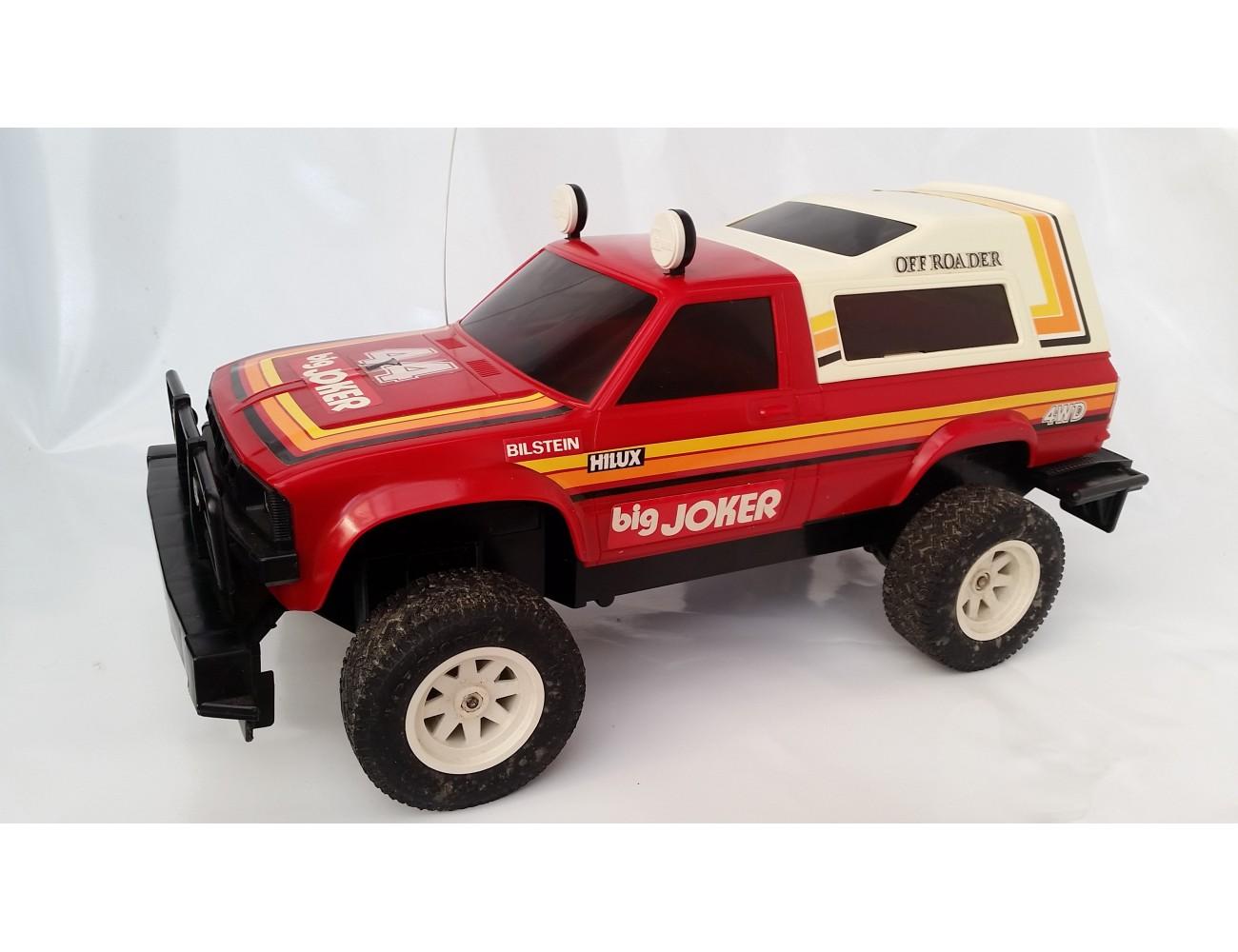 Nikko Rc Toyota Hilux 4x4 80 Vintage Toys