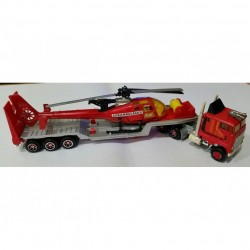 Kenworth Transport Truck Trailer Gazelle Medic Helicopter no.371
