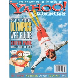 Yahoo Internet Life Magazine February 1998