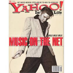 Yahoo Internet Life Magazine August 1998