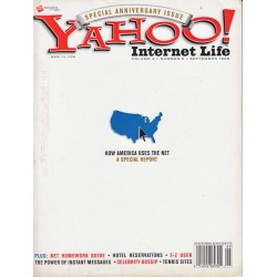 Yahoo Internet Life Magazine September 1998