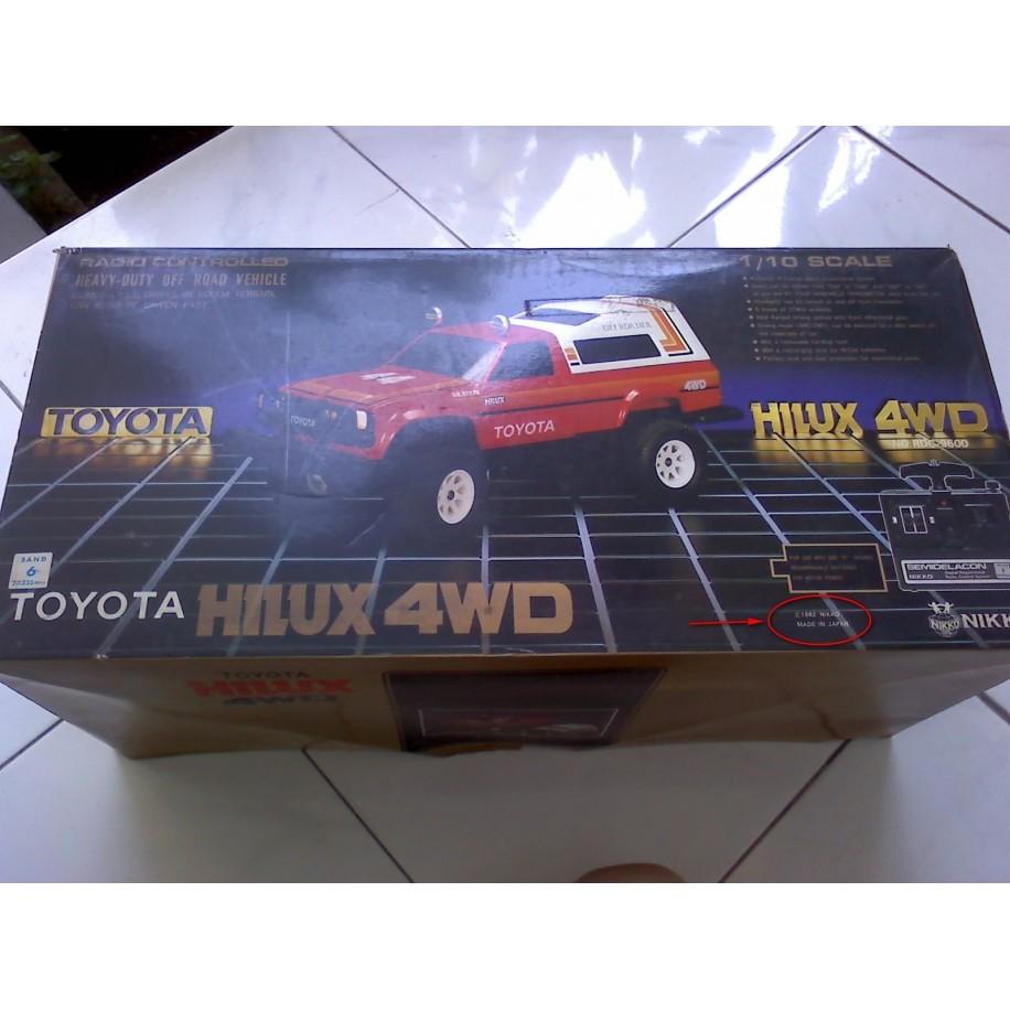Nikko RC Toyota Hilux 4x4