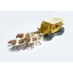 Dilligence Coach Kansas City Attelage Chevaux no.326